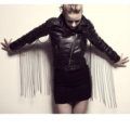 Fashion Body Chain Nightclub Showgirl Back Wing Tassel Punk Long Necklace Jewelry - Gold